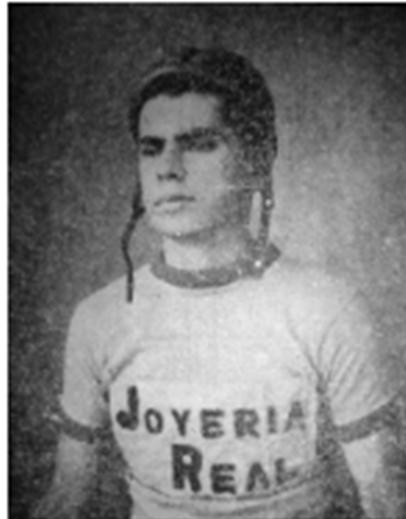 """Gonzalo """"el jaguar"""" Diaz"""
