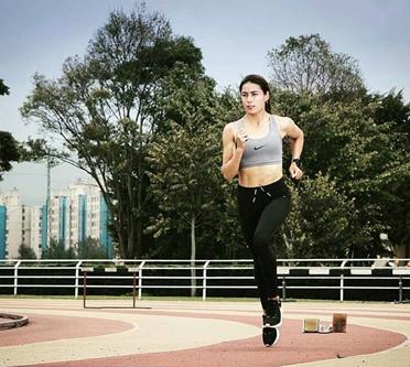 Leidy Yolanda Romero Durán,santandereana, de Curití, con registro para los Panamericanos 2019