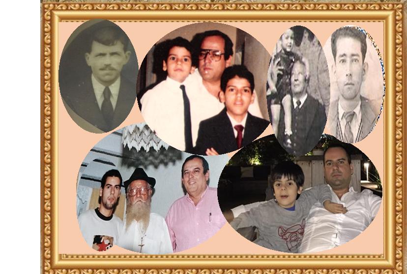 Gracias padres: Rafael Pinilla. José María, Pablo Eduardo, Leonardo y Pablo José Enciso