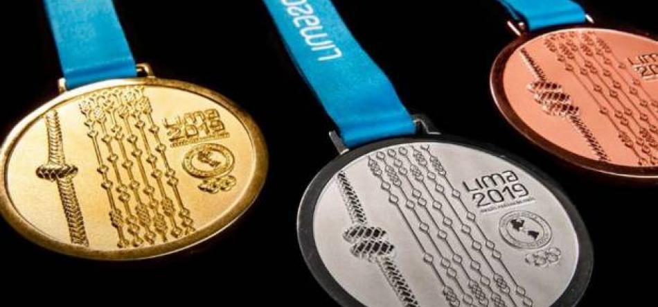 LIMA. JJ Panamericanos 2019. Medallero. Colombia es 3o.
