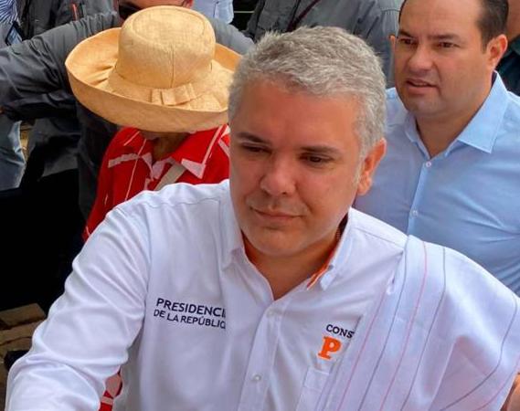 """Barichara, Santander. Duque anunció que  """"va a objetar el artículo 44 de la Ley de Presupuesto"""""""