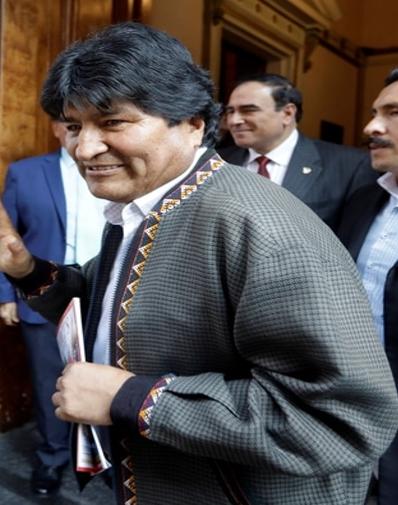 Bolivia. Evo Morales, nombrado jefe de campaña del MAS, de cara a las próximas elecciones