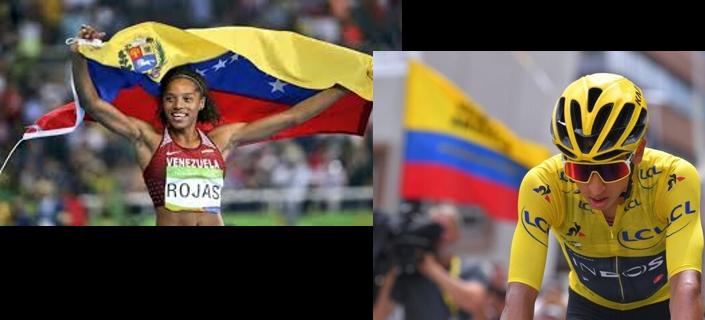 Prensa Latina .El ciclista colombiano Egan Bernal y la atleta venezolana Yulimar Rojas,los mejores atletas de Latinoamérica en 2019.