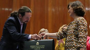 """España. Pablo Iglesias Vicepresidente y Ministro: habrá """"muchas voces"""" en el Gobierno pero una sola """"palabra"""""""