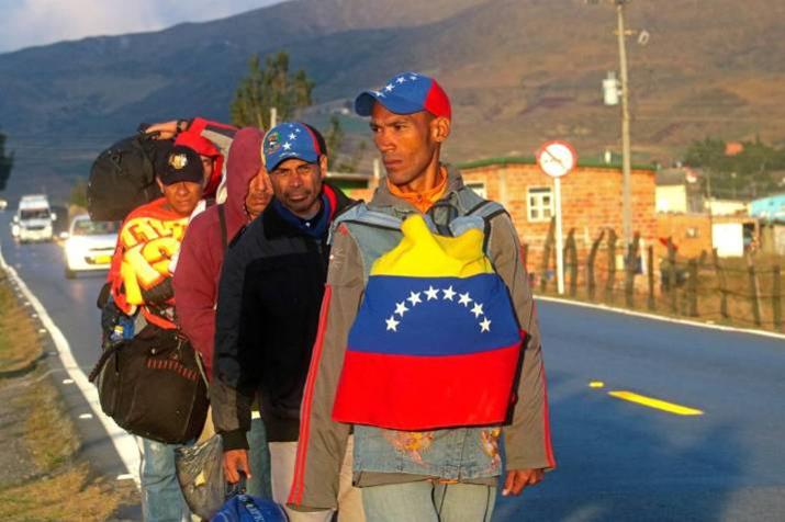 En Colombia viven 1´630.903 venezolanos. 90 milen Santander.