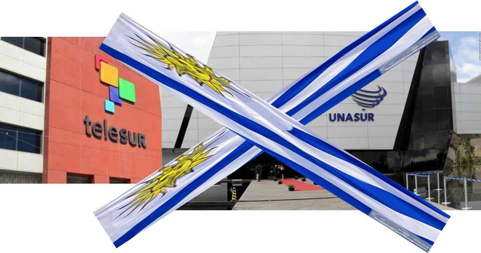 Uruguay. El nuevo gobierno drechista sale de la Unasur y se retira de Telesur y del Banco del Sur y sigue en TIAR.