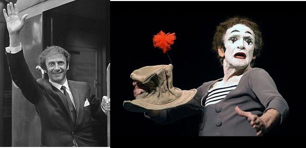 Marzo 22.  Hace 97 años nació Marcel Marceau uno de los mimos más famosos del mundo