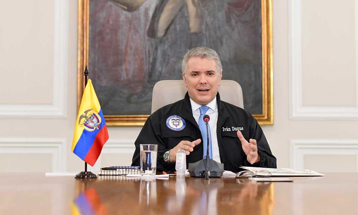 """Colombia. Presidente Iván Duque: """"2'600.000 familias tendrán los subsidios en sus manos el 1 de abril"""""""