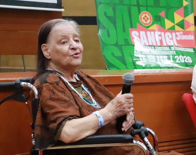 Marta Rodríguez de SANFICI 2020, a la Academia de los Oscar´s