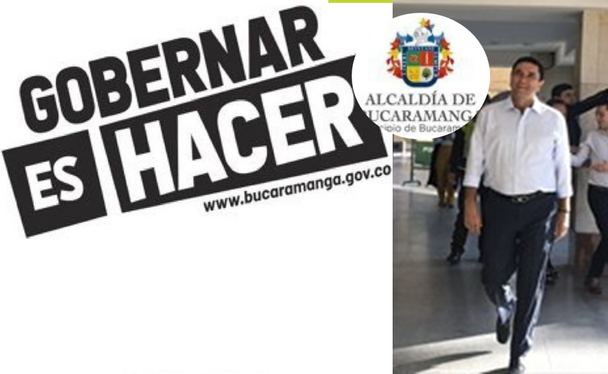 Bucaramanga. Juan Carlos Cárdenas garantiza, con hechos: el principio de no robar