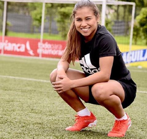 Leicy Santos, futbolista colombiana triunfa en el Atletico de Madrid