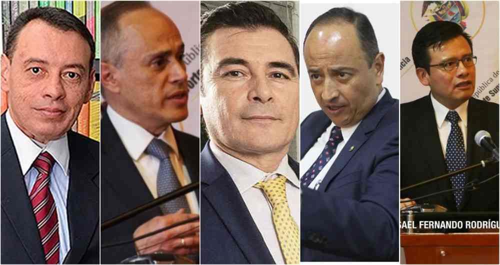 Magistrados César Reyes (ponente), Francisco Javier Farfán, Misael Rodríguez, Héctor Alarcón y Marco Antonio Rueda, por unanimidad: encarcelaron a Uribe Vélez