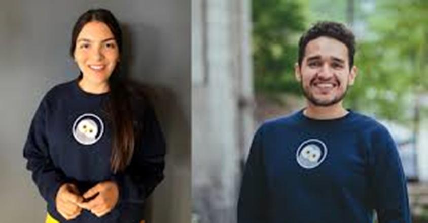 Laura Velásquez y José Zea, jóvenes colombianos quienes crearon programa que diagnostica enfermedades en segundos