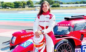 24 Horas de Le Mans. La piloto colombiana atiana Calderón finalizó 9a.