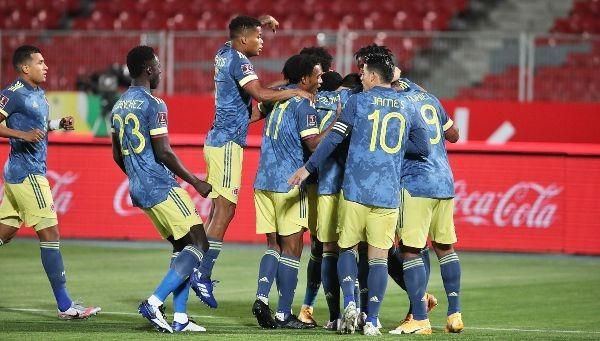 Rumbo a Qatar 2022. Colombia empató con Chile 2-2