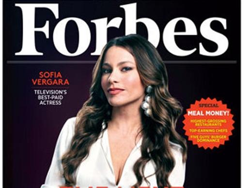 La colombiana Sofía Vergara es la actriz mejor pagada del mundo: Revista Forbes