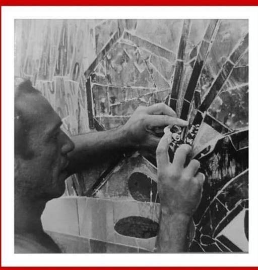 Nuestro compañero claveriano JORGE IVÁN ARANGO pintor santandereano
