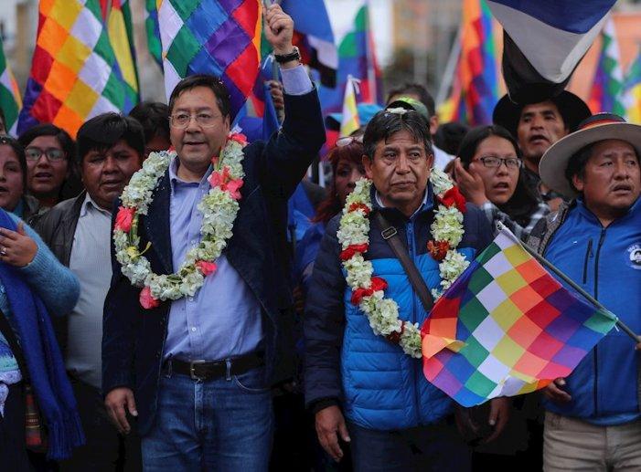 BOLÍVIA. Luis Arce, presidente y David Choquehuanca,vice: un economista de izquierda y un indigenista gobernaran