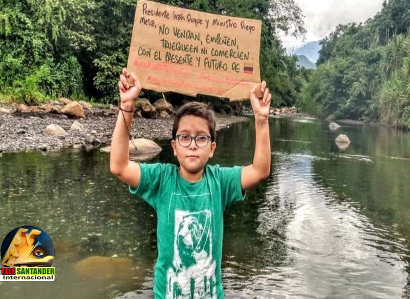 Francisco Vera, niño ambientalista es amenazado de muerte