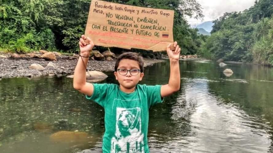 El niño colombiano FRANCISCO VERA fue nombrado embajador de Buena Voluntad por la Unión Europea