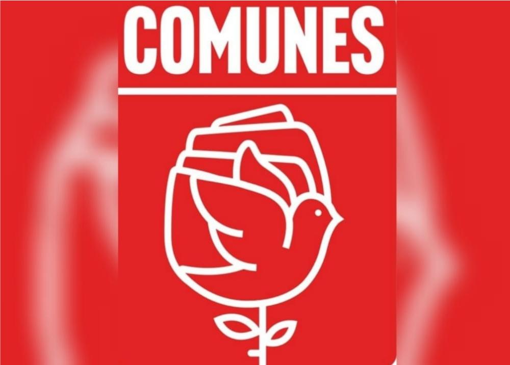 Partido COMUNES. Logo y nueva directiva