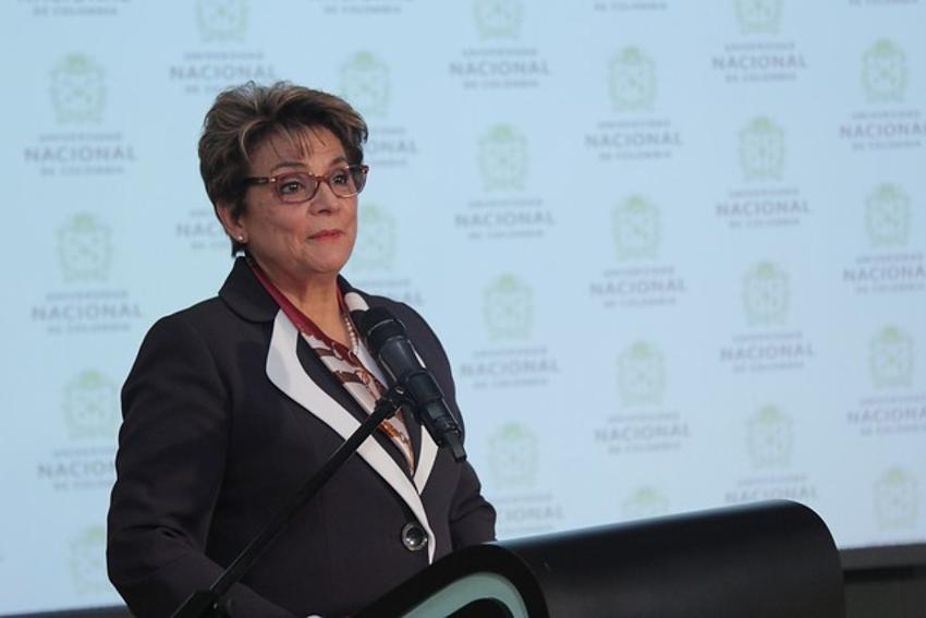 Dolly Montoya fue reelegida como rectora de la Universidad Nacional