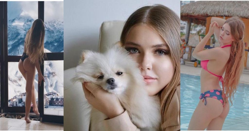 "Yanita Karpova, ""exótica rusa"" que busca novio colombiano"