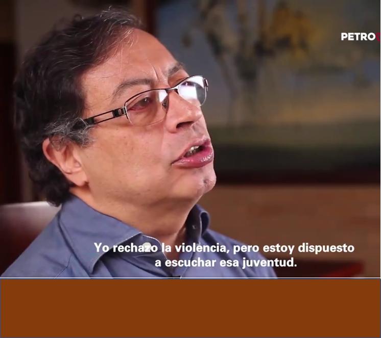 PETRO. Tercera alocución a la Nación Colombiana