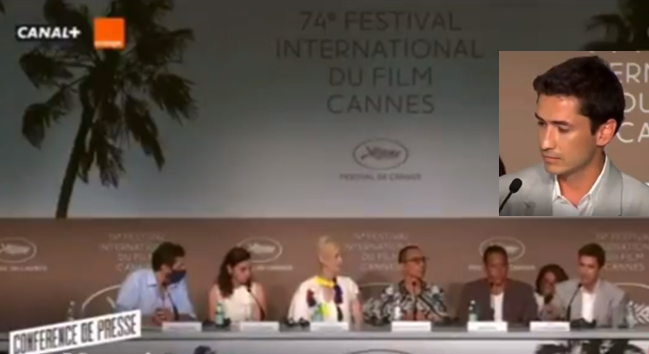 FESTIVAL DE CINE DE CANNES 2021. Mensaje del actor colombiano JUAN PABLO URREGO, sobre la MASACRE en las CALLES